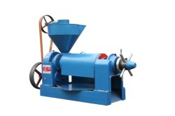 La chufa de Soja aceite de semillas de girasol de la máquina de prensa de tornillo / aceite comestible expeller