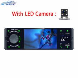 """Betterway 1 DIN 4 """" 사진기를 가진 Bluetooth 자동차 라디오 접촉 스크린 미러 링크 Autoradio MP5 영상 선수 USB 보조 오디오"""