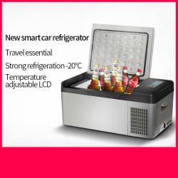 DC 12V/24V carro potável Refrigeração do compressor frigorífico congelador do Resfriador