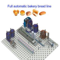 Pão de padaria Industrial totalmente automático de equipamentos de processamento de alimentos da Máquina para torrar pão Rusk Baking