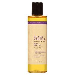 Reines natürliches schwarzes Vanillebefeuchtenu. Shine-Haar-Öl