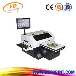 Scanner à plat UV personnalisée DTG imprimante numérique textile de format A3 T Shirt Tshirt Machine d'impression