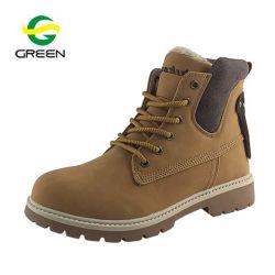 Greenshoe pendões de novo estilo casual de couro botas para homens tornozelo, PU botas de couro tornozelo, Custom Martin Botas sapatos de Inverno Homens