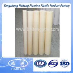 Mc natural da haste de Nylon PA6 Nylon fundido branco da haste de plástico azul