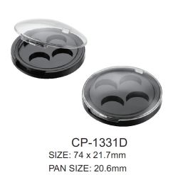 Customized Classic 4 Frigideiras plástica redonda caixa compacta
