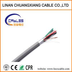 セキュリティアラームケーブル 4 コア CPR 承認済み銅線通信 ケーブルモニタアラームシステム