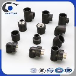 Haute flexibilité PE 100 PEHD Raccords de tuyaux en plastique pour l'approvisionnement en eau