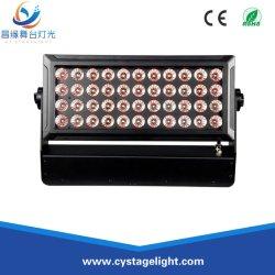 غسيل ملون صيني 44×10 واط RGBW 4in1 IP65 لون مدينة LED سعر اللون