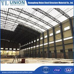 Prefabricated 조립식 가옥 조정가능한 큰 경간 금속 산업 홀 공장 작업장 창고 온실을 지는 모듈 이동할 수 있는 강철 구조물 금속
