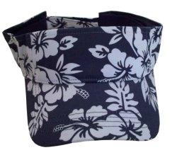 100% Algodón Sarga patrón floral visera de estilo básico
