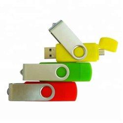 ロゴの製造業者OTG移動式USBのフラッシュ駆動機構16 GBの2.0