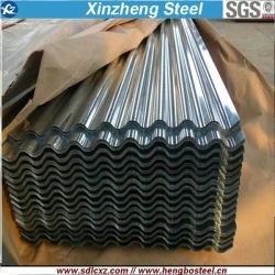 prix d'usine Gi ondulé/GL/acier PPGL PPGI/tôle de toit