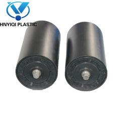 HDPE/UHMWPE покрытием натяжной ролик конвейера для питания ременной транспортер основную часть обработки материала