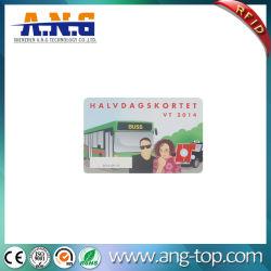 Hf Ultralight Papel Estacionamento RFID Cartão de bilheteira