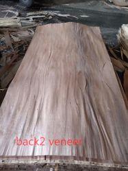 Impiallacciatura di legno della parte posteriore del fronte dell'impiallacciatura di Walhut del pino di Oku della quercia