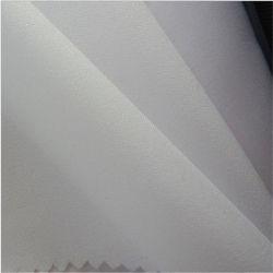 3410 100% ventes en gros de interface tissées ordinaires de tissu de polyester pour le vêtement