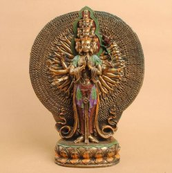 Standbeeld van Boedha van de Ambachten van Creatove het Thaise, Thaise Decoratief, het Standbeeld van Boedha van de Tuin van de Hars