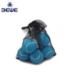 De buena calidad extra tipo Itf 2 Net profesional personalizado de Ensacado el 57% de lana sin presión de pelota de tenis