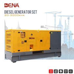 200kw de potencia de motor Cummins diesel silencioso generador con mejor calidad