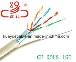 옥외 Utpcat5e. 4X2X24AWG + 1.2명의 메신저 철강선 또는 컴퓨터 케이블 데이터 케이블 커뮤니케이션 케이블 연결관 오디오 케이블