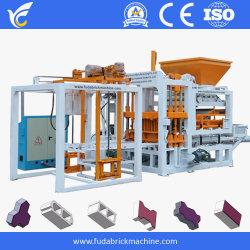 Het concrete Holle Met elkaar verbindende Blok die van de Sintel van de Lopende band van het Blok Kerbstone van de Machine de Machines van de Bouw van Cabro maken