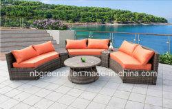 Mobilia esterna diTessitura comoda del salotto del sofà di svago del rattan del giardino