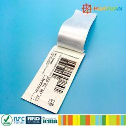 Plage de lecture longue MonzaR6-P vêtement tissé UHF RFID les étiquettes de vêtements