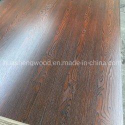 Melamin-Papier gegenübergestellt auf Furnierholz für Möbel