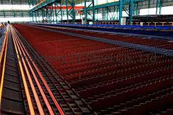 건축재료 (ASTM A615 Gr40 ASTM A615 Gr60 HRB400 HRB500 HRB600)를 위한 모양없이 한 강철봉 Rebar를 강화하는 중국 공장 선반 열간압연 강화 Ribber