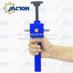 Jacton petit ver prise jack mini système d'engrenage à vis avec le fonctionnement manuel en Chine