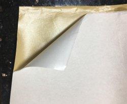 Selbstklebender Stickerei-Schutzträger mit Freigabe-Papier (nichtgewebtes schmelzbares zwischenzeilig schreibendes beschichtetes Freigabepapier)