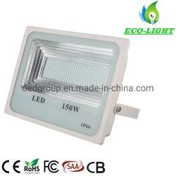 Gran cantidad de lúmenes Slim IP66 Resistente al agua para la construcción de la iluminación exterior 150W 200W Reflector LED SMD