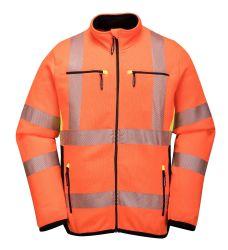 На заводе горячего продажи стиле неон оранжевый вязаные куртки куртка Chaqueta Reflectante безопасности отражает