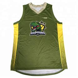 2019 La meilleure conception de la sublimation Dry Fit Mens Basketball Maillot uniformes uniforme de jeu personnalisé