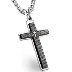 Поощрение подарки мода украшения ожерелье из нержавеющей стали креста пульта управления
