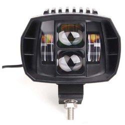 60W faisceau de barre d'éclairage à LED CREE LED Spot Light LED d'inondation des feux de travail pour les feux de brouillard de conduite hors route, camion, voiture, VTT, SUV, Jeep, transmittance supérieure