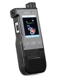 Testeur de détecteur d'alcool alcool alcootest Compteur d'alcool Modèle de caméra pour l'utilisation de la police