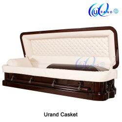 2019/en bois de placage bois/Funérailles et inhumation//peuplier/Oak/Cherry/acajou/cercueil de Luxe&Coffin