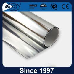Pellicola solare d'argento riflettente della pellicola della finestra di rifiuto di calore delle 2 pieghe