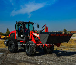 Nieuw Ontwerp 825 van China van het Gebruik van het Werk van de Tuin van het landbouwbedrijf de Lader van het Wiel 2.5t0n