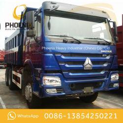 عجلات شاحنة تفريغ ذات حالة جيدة عجلات HOWO 10 X4 لأفريقيا