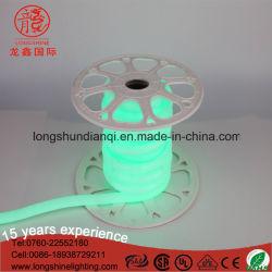 Светодиодный индикатор зеленого цвета Рождества 220V газа веревки лампы неоновые лампы Flex