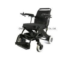 Modelo de cadeira de rodas Eléctrica motorizada de aço Dyn30UM com almofada confortável para pessoas limitadas de mobilidade