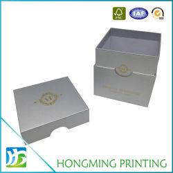 Золотой логотип печать картонной упаковке при свечах