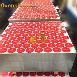 0,16mm quatro cor impressa da folha de flandres para o molho de tomate pode