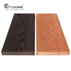Cinzento laminado exóticos pisos de madeira/ cujas WPC andar/ Varanda piso parquet