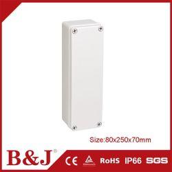 80x180x70mm IP68 Boîtier en plastique ABS étanche extérieur couvercle transparent et couvercle opaque