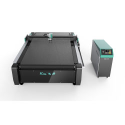 O melhor preço de CNC máquina de corte da Caixa de Papelão Ondulado/Honeycomb/Placa de papel, amostra de caixa de papelão, Cartão cinzento tornando Embalagem Plotter de Corte