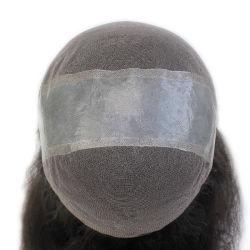Lw887 French Lace Base مع جلد النحيف الشعر البشري w887 للنساء