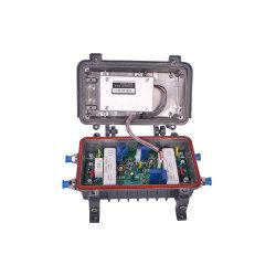 40ДБ CATV усилитель соединительных линий 2-канальный усилитель сигнала кабельного телевидения
